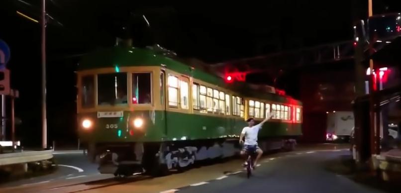 江ノ電自転車ニキ